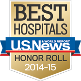 US News Best Hospitals Honor Roll Badge
