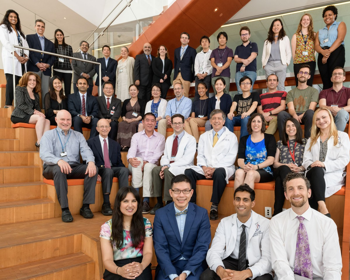 A group photo of the Division of Digestive and Liver Diseases in 2019
